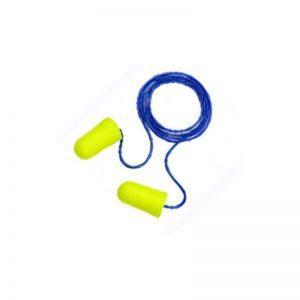 Auriculares anti ruido tipo tapones TRACK-FIT c/cuerda