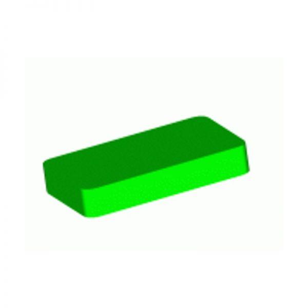 Calzos plásticos sencillos para acristalar 90mm x 18mm