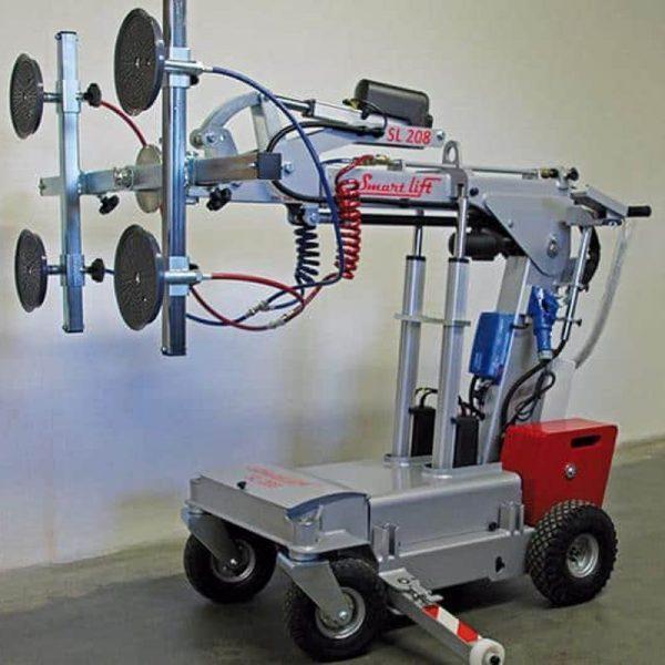Carro motorizado para la instalación de vidrio SL208 Compact