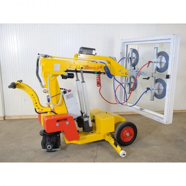 Carro motorizado para la instalación de vidrio SL280 Standard