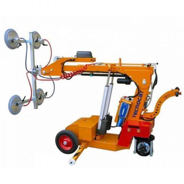 Carro motorizado para la instalación de vidrio SL380