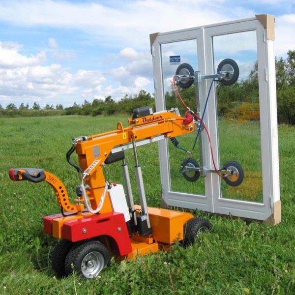 Carro motorizado para la instalación de vidrio SL380 Outdoor
