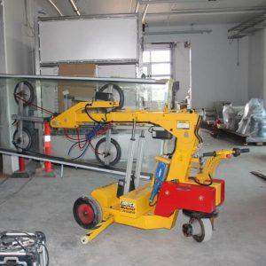 Carro motorizado para la instalación de vidrio SL508 Maxi
