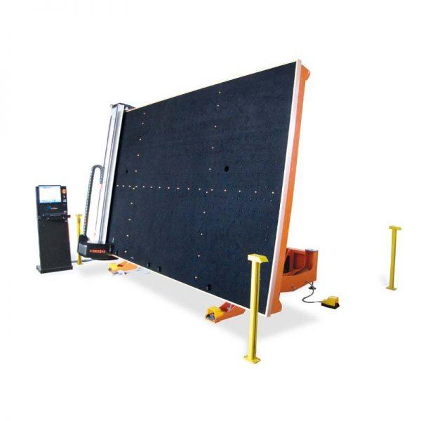 Mesa automática para corte de vidrio monolítico TUROMAS RUBI 203