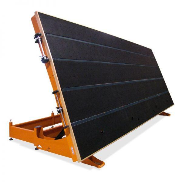 Mesa de carga de vidrio con correas MCC-300