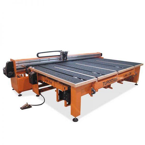 Mesa para corte de vidrio laminado LAM 104