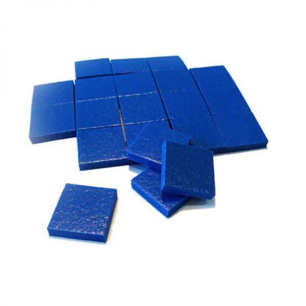 Separador Adhesivo plástico azul 18x18x4mm especial