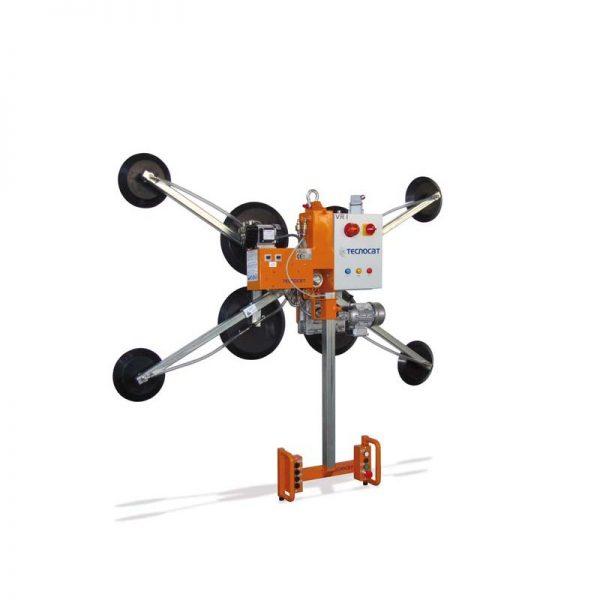 Ventosa para vidrio con movimiento motorizado VR1-G4+4