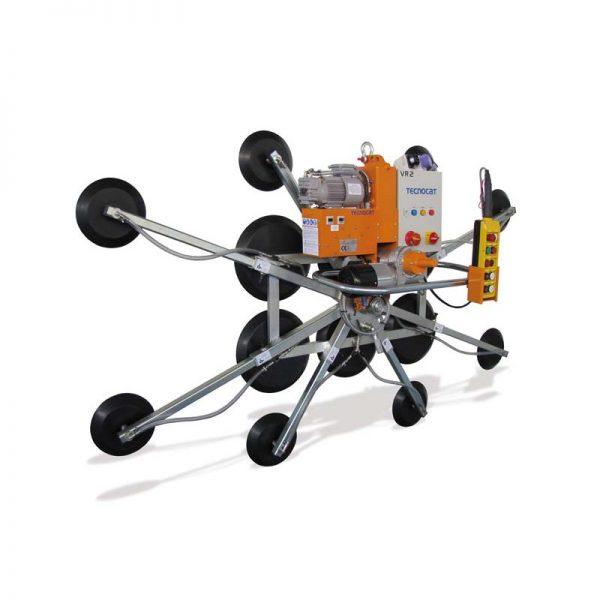 Ventosa para vidrio con movimiento motorizado VR2-GB6+8