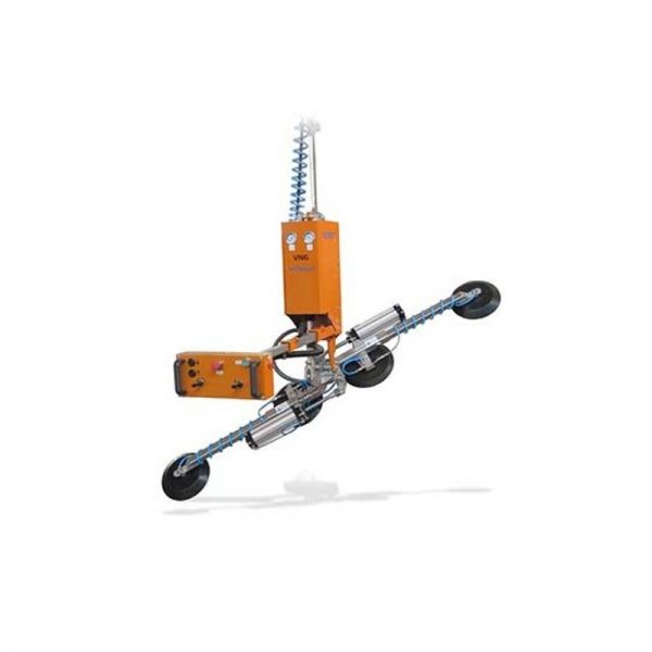 Ventosa para vidrio con rotación y basculación neumáticas VN6-GB2+2