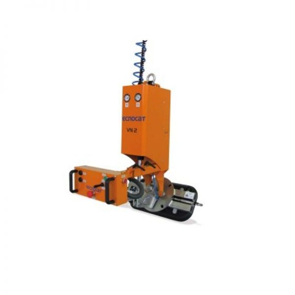 Ventosa para vidrio con rotación manual y basculación neumática VN2-GB1