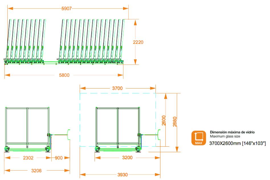 Clasificador manual TECNOCAT CLM